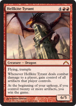 Hellkite Tyrant | Magic: The Gathering Card