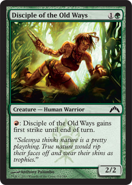 Disciple of the Old Ways | Magic: The Gathering Card