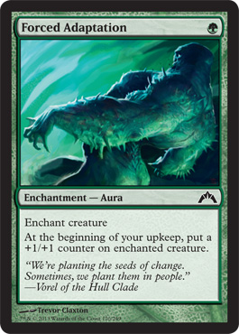 Forced Adaptation | Magic: The Gathering Card