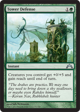 Tower Defense | Magic: The Gathering Card