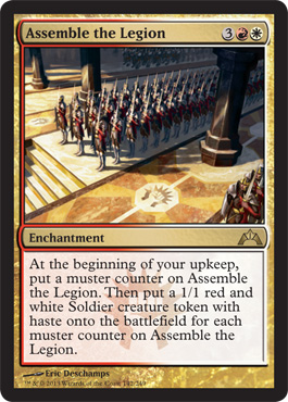 Assemble the Legion | Magic: The Gathering Card