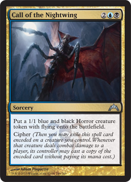 Call of the Nightwing | Magic: The Gathering Card