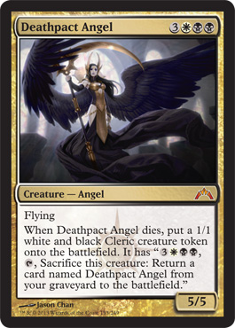 Deathpact Angel | Magic: The Gathering Card
