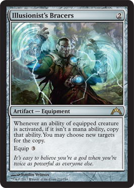 Illusionist's Bracers | Magic: The Gathering Card