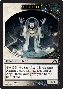 Cleric Token | Magic: The Gathering Card