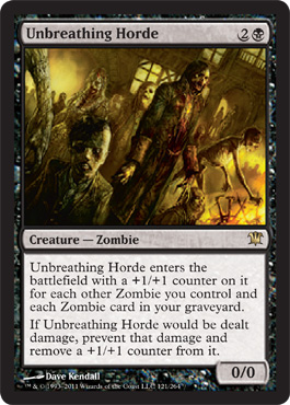 Unbreathing Horde | Magic: The Gathering Card
