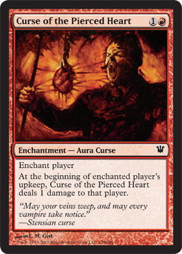 Curse of the Pierced Heart | Magic: The Gathering Card