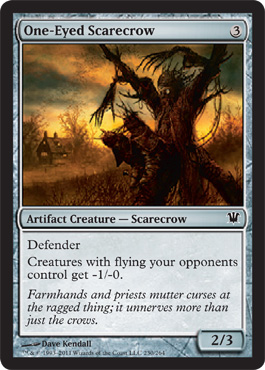 One-Eyed Scarecrow | Magic: The Gathering Card