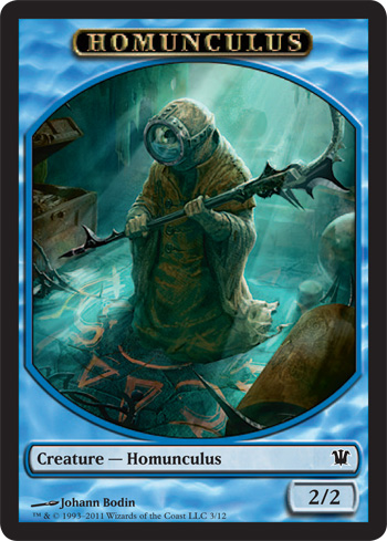 Homunculus Token | Magic: The Gathering Card