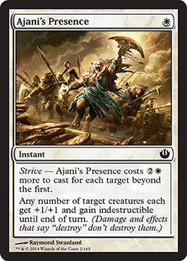 Ajani's Presence | Magic: The Gathering Card
