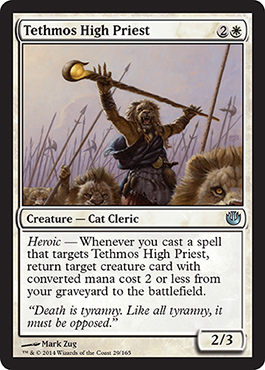 Tethmos High Priest | Magic: The Gathering Card