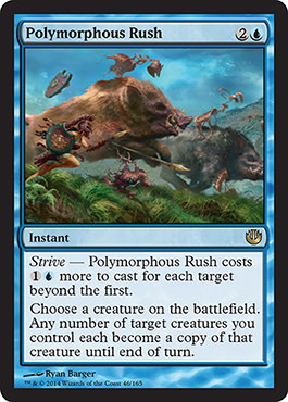 Polymorphous Rush | Magic: The Gathering Card