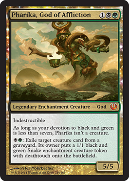 Pharika, God of Affliction | Magic: The Gathering card