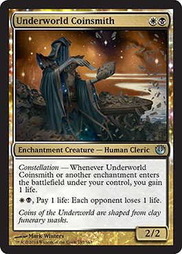 Underworld Coinsmith | Magic: The Gathering Card