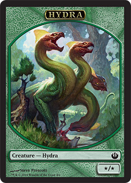Hydra Token | Magic: The Gathering card