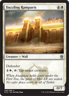 Dazzling Ramparts | Magic: The Gathering Card