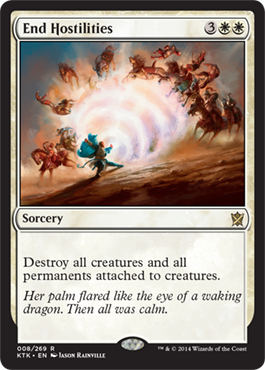 End Hostilities | Magic: The Gathering Card
