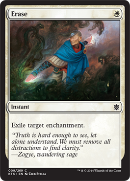 Erase | Magic: The Gathering Card