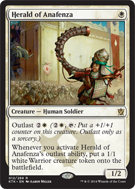 Herald of Anafenza | Magic: The Gathering Card