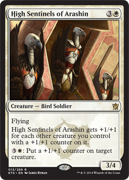 High Sentinels of Arashin | Magic: The Gathering Card