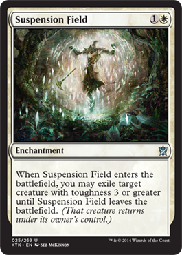 Suspension Field | Magic: The Gathering Card