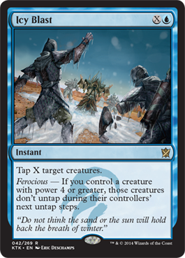 Icy Blast | Magic: The Gathering Card