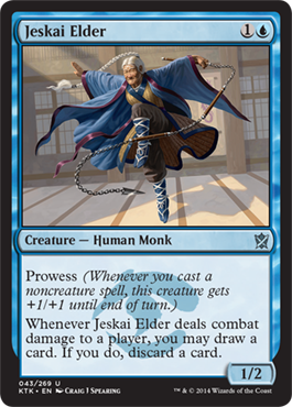 Jeskai Elder | Magic: The Gathering Card