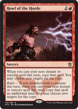 Howl of the Horde | Magic: The Gathering Card