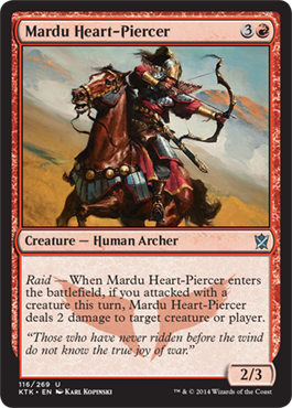 Mardu Heart-Piercer | Magic: The Gathering Card