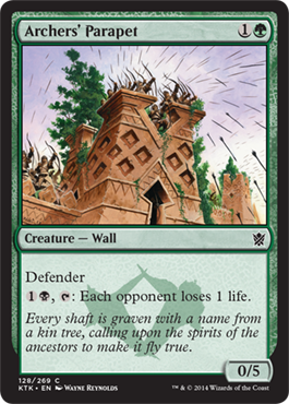 Archers' Parapet | Magic: The Gathering Card