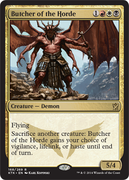 Butcher of the Horde | Magic: The Gathering Card