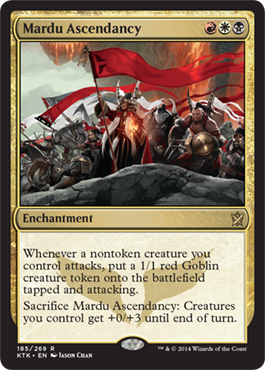 Mardu Ascendancy | Magic: The Gathering Card