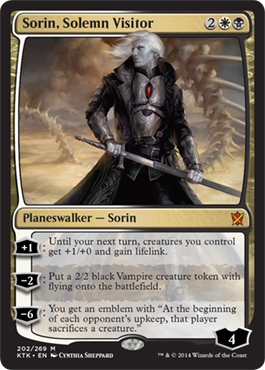 Sorin, Solemn Visitor in Khans of Tarkir
