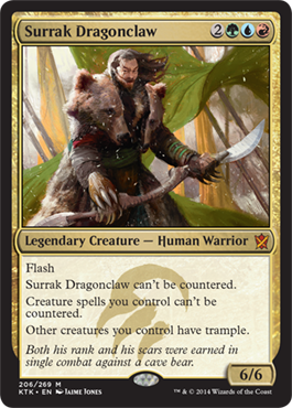 Surrak Dragonclaw | Magic: The Gathering Card