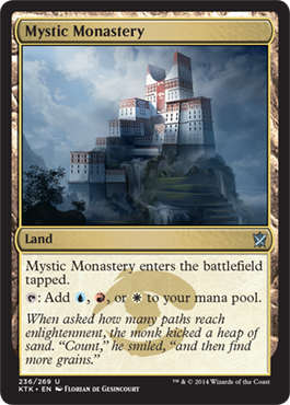 Mystic Monastery | Magic: The Gathering Card