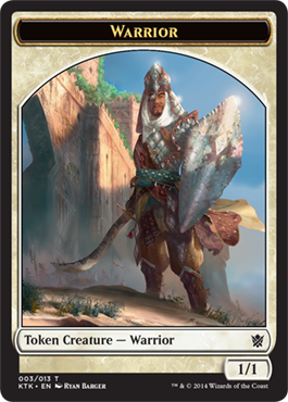 Warrior Token | Magic: The Gathering Card