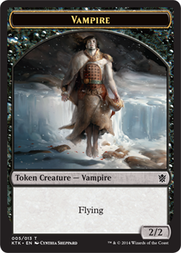 Vampire Token | Magic: The Gathering Card