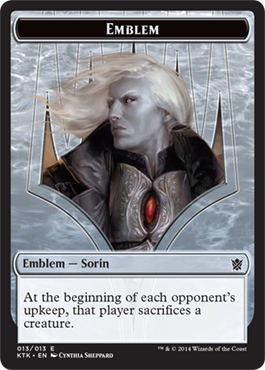 Emblem - Sorin, Solemn Visitor | Magic: The Gathering Card