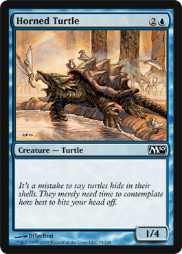 Horned Turtle | Magic: The Gathering Card