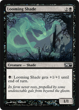 Looming Shade | Magic: The Gathering Card