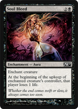 Soul Bleed | Magic: The Gathering Card