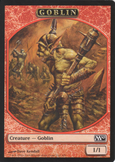 Goblin Token | Magic: The Gathering Card