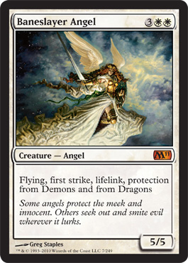 Baneslayer Angel | Magic: The Gathering Card