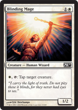 Blinding Mage | Magic: The Gathering Card