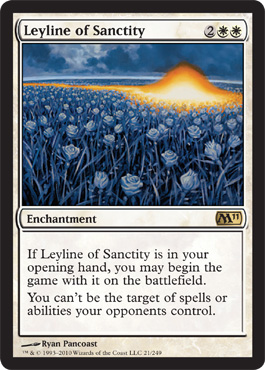 Leyline of Sanctity | Magic: The Gathering Card