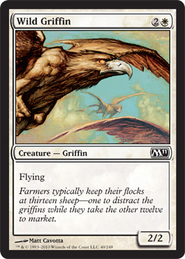 Wild Griffin | Magic: The Gathering Card