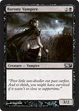 Barony Vampire | Magic: The Gathering Card