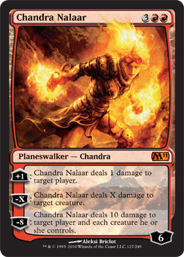 Chandra Nalaar | Magic: The Gathering Card