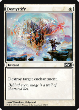 Demystify | Magic: The Gathering Card