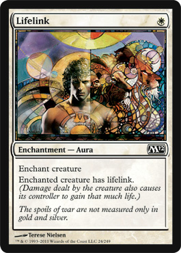Lifelink | Magic: The Gathering Card